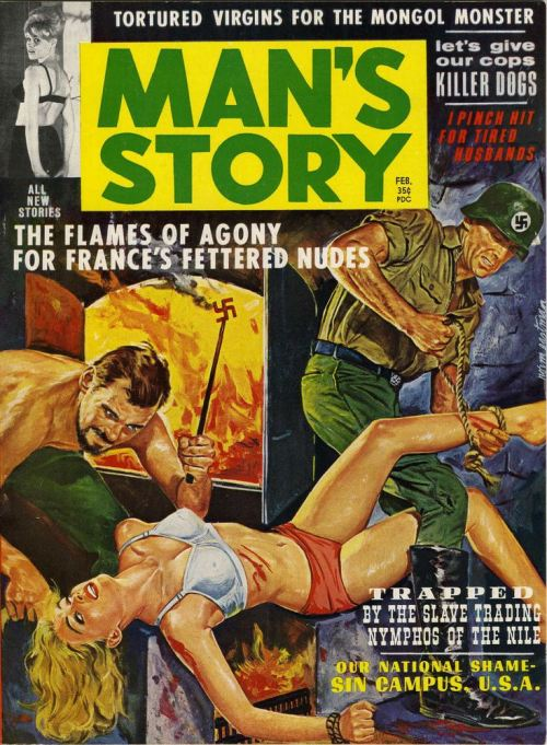 Man's Story, februar 1963