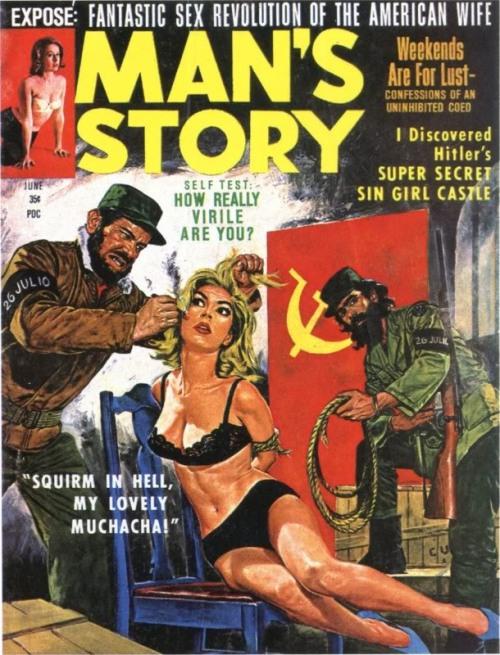 Man's Story, juni 1964