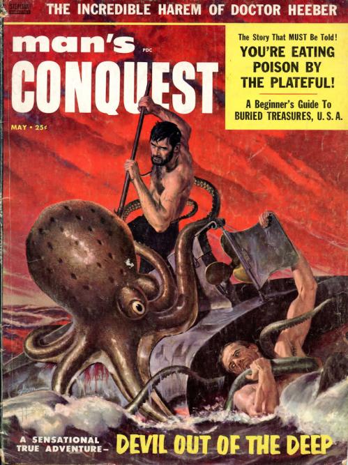 Man's Conquest, maj 1958