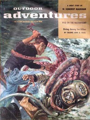 Outdoor Adventures, april 1957