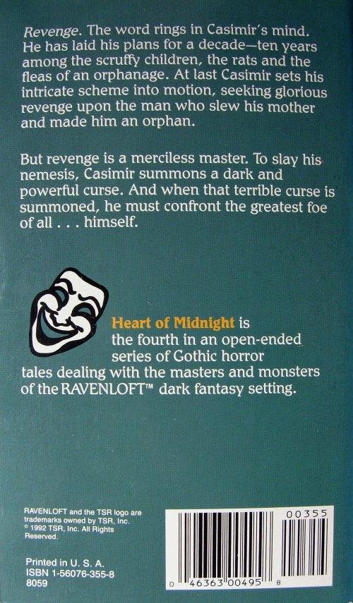 Paperback, TSR 1992