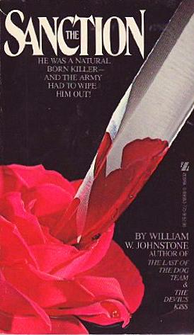 Paperback, Zebra Books 1981. Blodig kniv trænger ind i blød rose... Man finder det ikke bedre på De Grå Sider