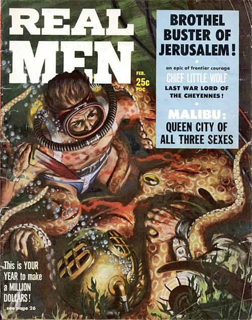 Real Men, februar 1958
