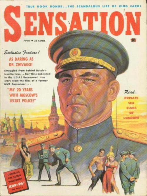 Sensation, april 1959