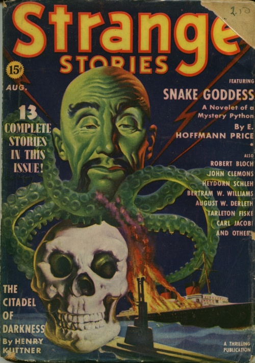 Strange Stories, august 1939