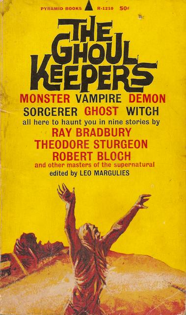 Paperback, Pyramid Books, 2. udg. 1965. Denne forside er også tegnet af John Schoenherrr, hvilket vel egentlig er ganske tydeligt
