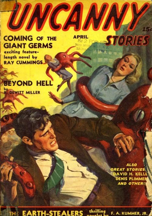 Uncanny Stories, april 1941