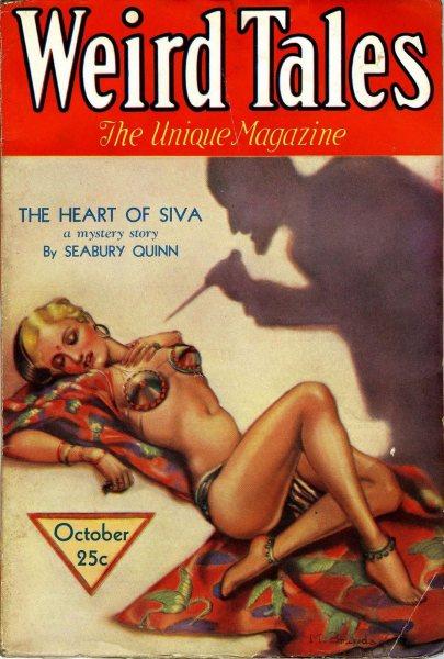 Weird Tales, oktober 1932