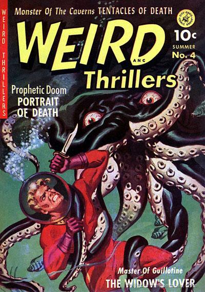 Weird Thrillers, sommer 1952