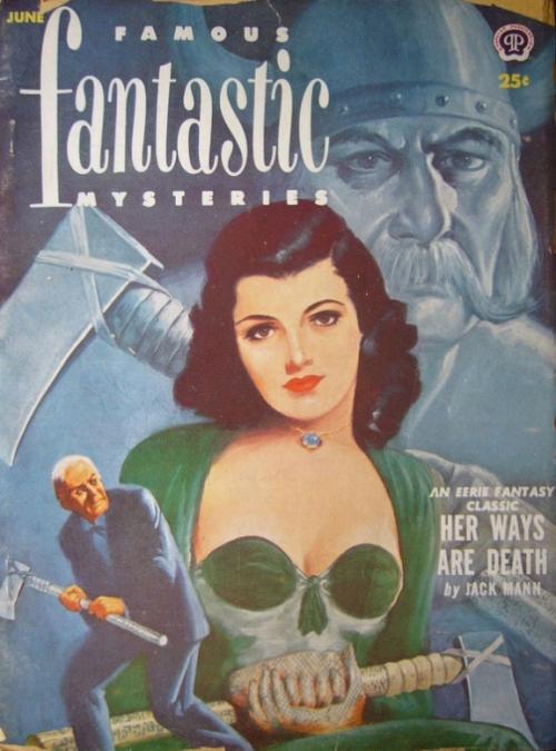 Famous Fantastic Mysteries, juni 1952