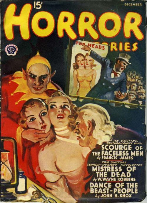 Horror Stories, december 1933