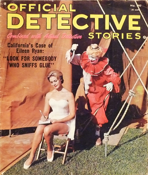 Official Detective Stories, maj 1962