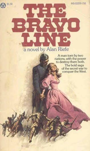 Paperback, Popular Library 1977. En af Alan Riefes forsatte historier var denne western-serie