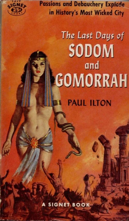 Paperback, Signet Books 1957. Hotte historier fra de gode gamle dage..