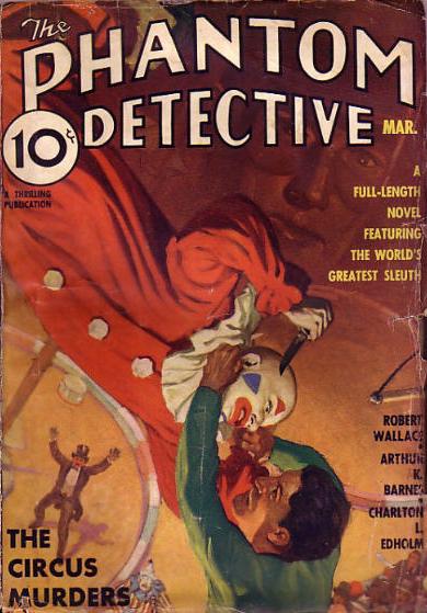 Phantom Detective, marts 1936