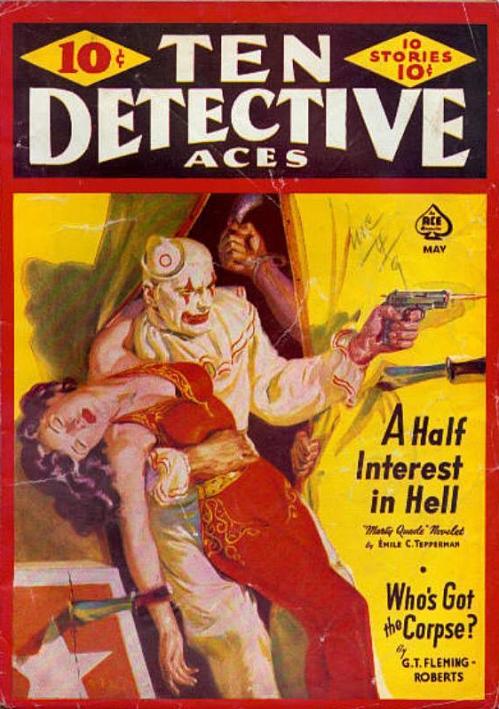 Ten Detective Aces, maj 1941