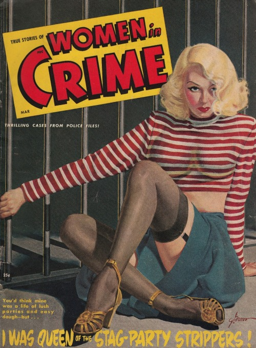 Women In Crime, marts 1948