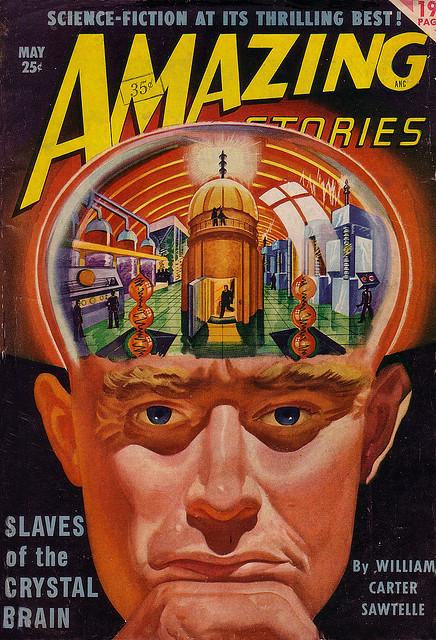 Amazing Stories, maj 1950