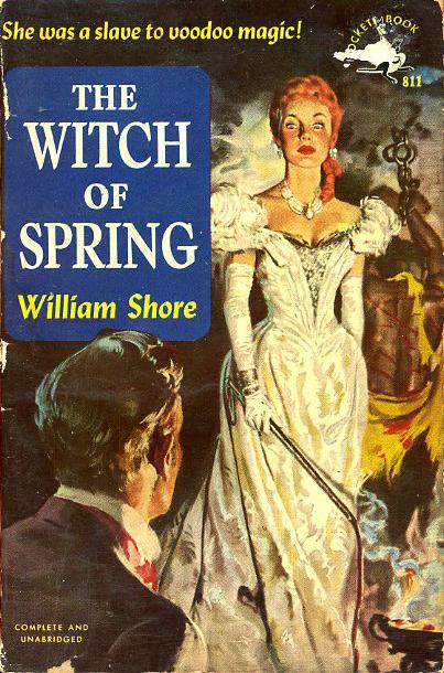 Paperback, Pocket Books 1950. Forsiden er malet af den fantastiske og feterede Ernest Chiriaka