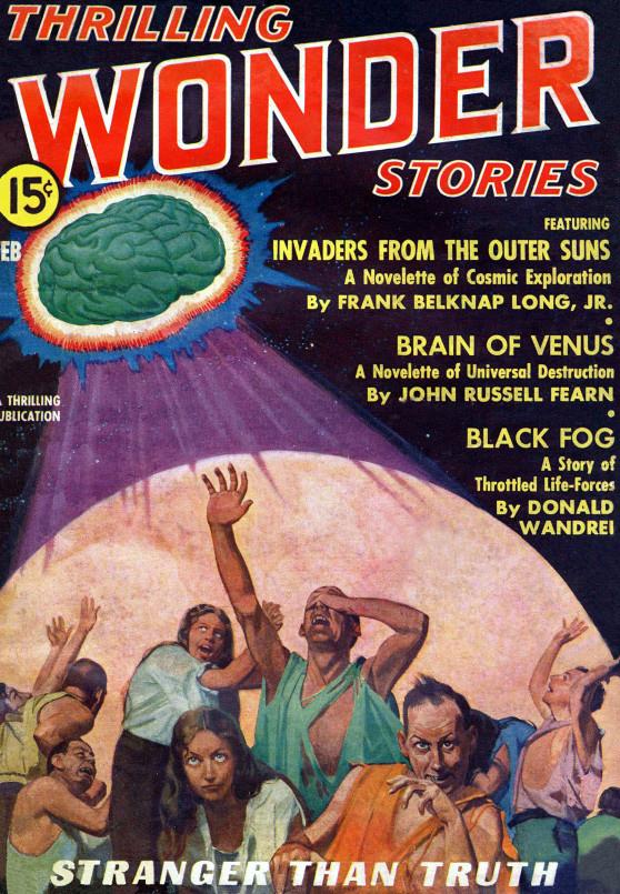 Thrilling Wonder Stories, februar 1937