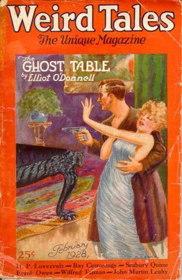 Weird Tales, februar 1928