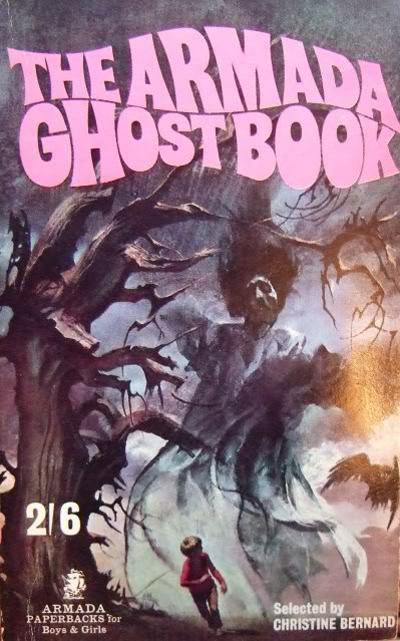 Armada Ghost Book 1. Paperback 1967. Et fremragende cover af Chris D'Achille