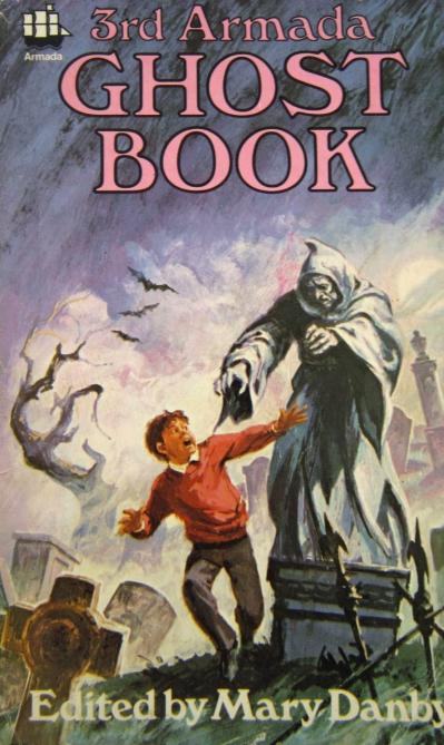 Armada Ghost Book 3. Paperback 1970. Forsiden er malet af Peter Archer