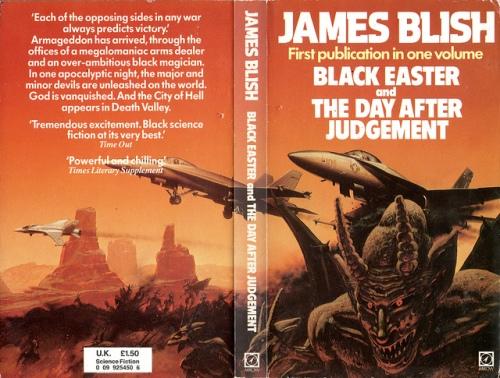 Paperback Arrow Books 1982. Forsidebilledet er malet af Chris Moore