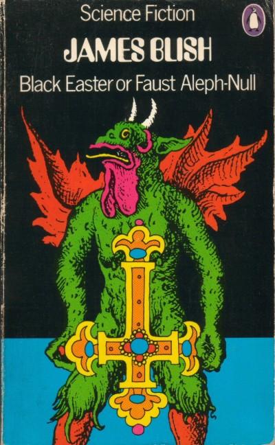 Paperback, Penguin Books 1972. Et som altid cool cover fra Penguins SF-serie. Manden bag forsiden er David Pelham