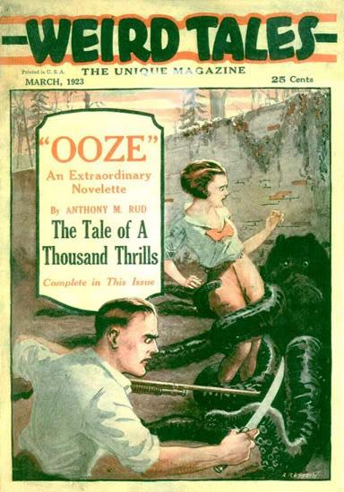 Weird Tales, marts 1923