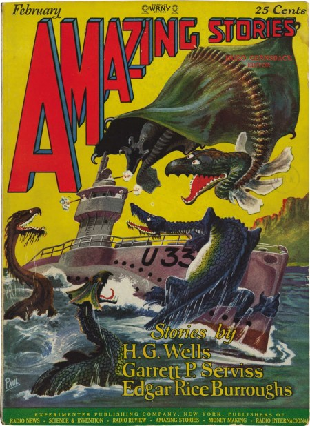 Amazing Stories, februar 1927
