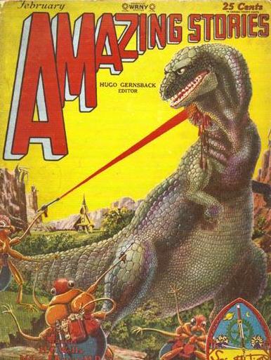 Amazing Stories, februar 1929