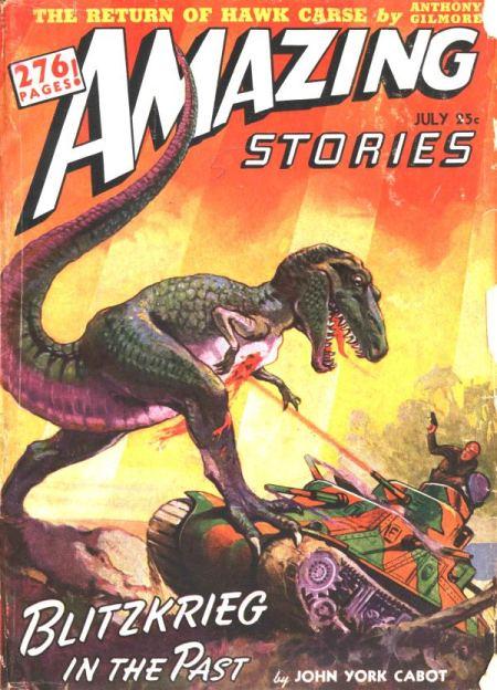 Amazing Stories, juli 1942
