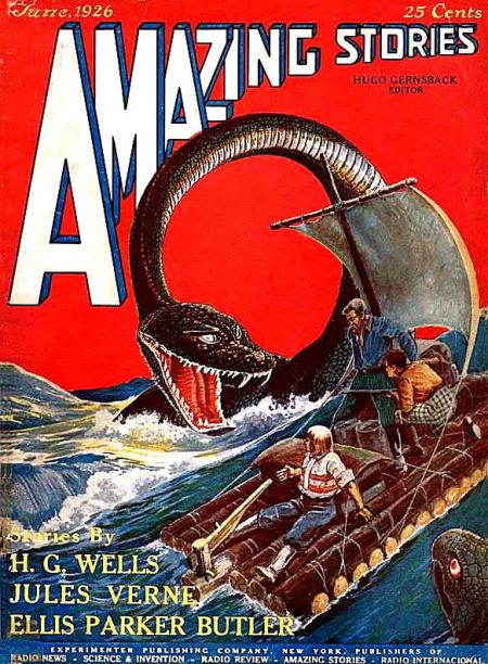 Amazing Stories, juni 1926
