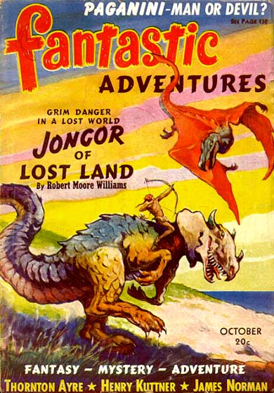 Fantastic Adventures, oktober 1940