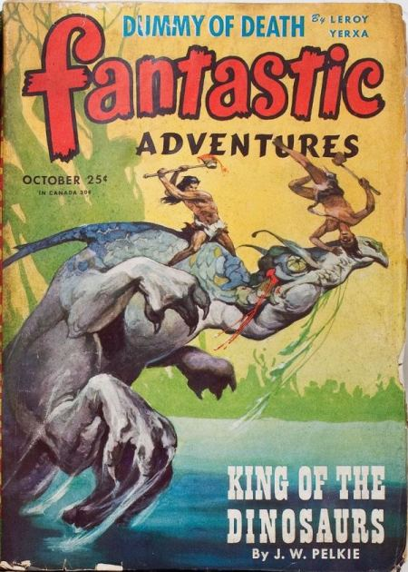 Fantastic Adventures, oktober 1945