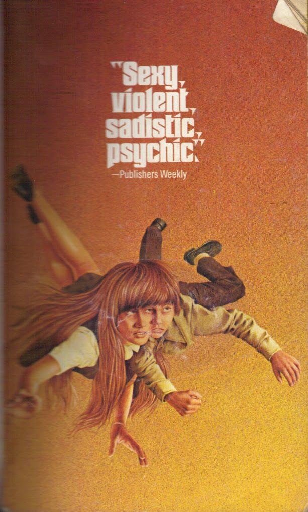 Paperback, Popular Library  1977. Indvendig forsiden af The Fury