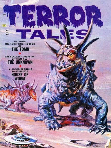 Terror Tales, juli 1971