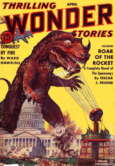 Thrilling Wonder Stories, april 1940