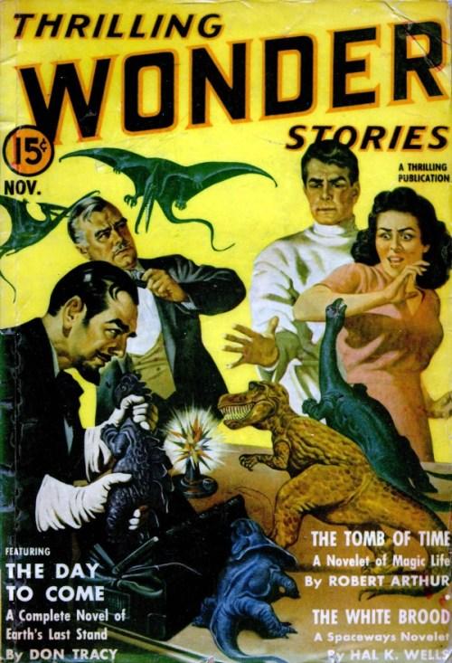 Thrilling Wonder Stories, november 1940
