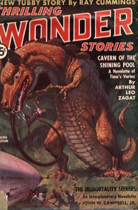 Thrilling Wonder Stories, oktober 1937