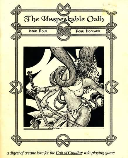 The Unspeakable Oath nr. 4 1991. Endnu en fantastisk forside