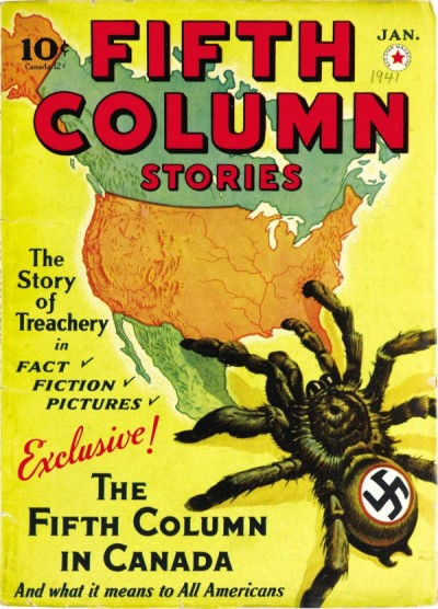 Fifth Column Stories, januar 1941