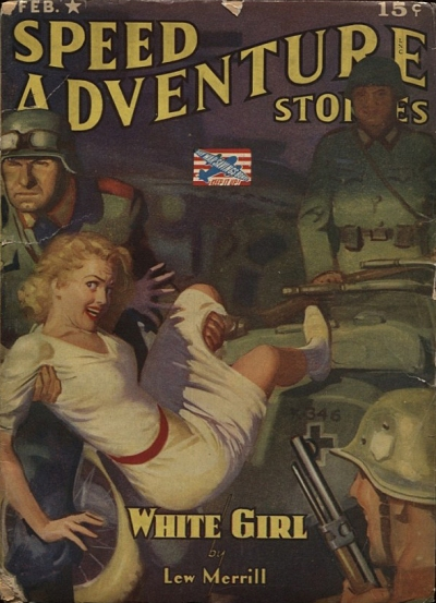 Speed Adventure Stories, februar 1943