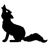 Tellerups ikoniske ulv. Tellerup kan være særdeles tilfredse med Vork på forfatterlisten