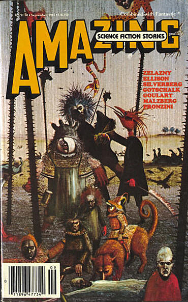Amazing Science Fiction Stories, september 1981