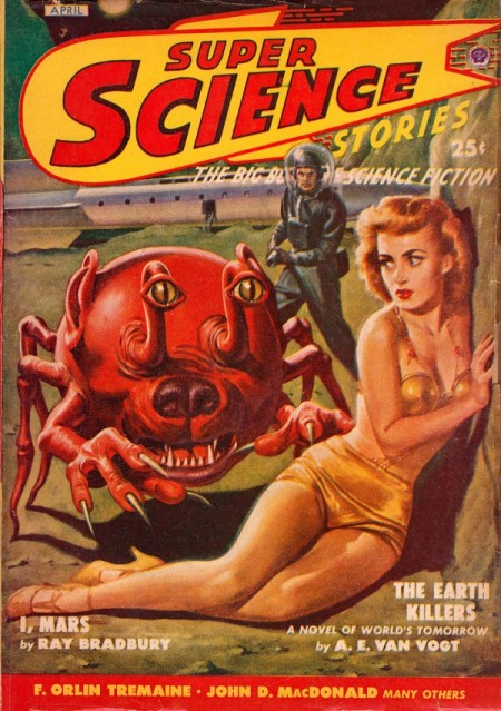 Super Science Stories, april 1934