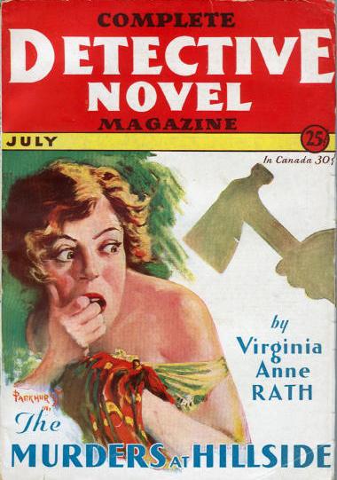 Complete Detective Novel Magazine, juli 1931