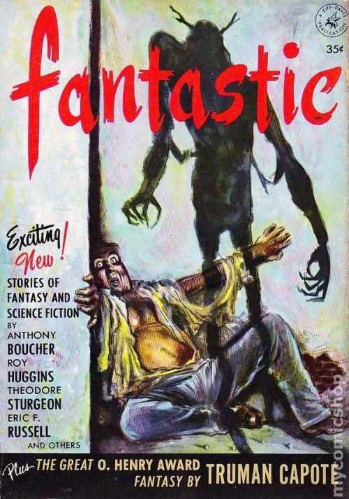 Fantastic Magazine, efterår 1952