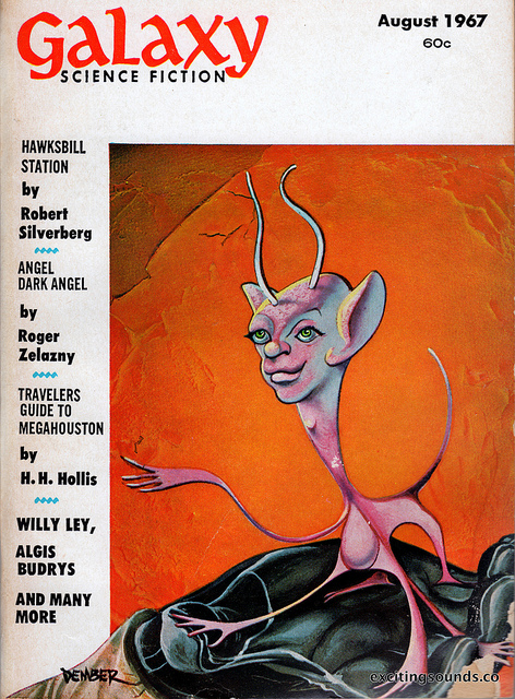 Galaxy Science Fiction, august 1967